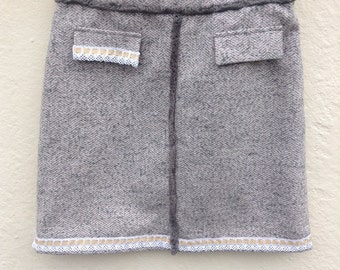womens skirt size 12 upcycled