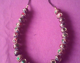 Necklace colors series Lola N 1