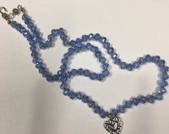 Knotted cord 18 in necklace