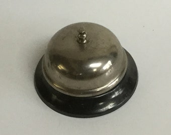 Vintage front desk bell teachers bell