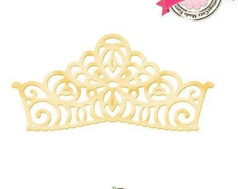 Die cut metal matrix Crown Crown Cottage Cutz