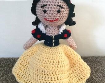 Snow White Crochet Doll