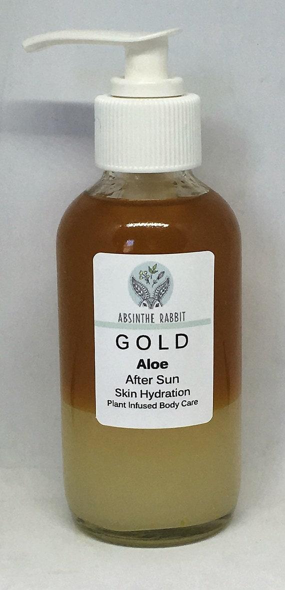 Body Organic  - Aloe Gold After Sun Skin Hydration