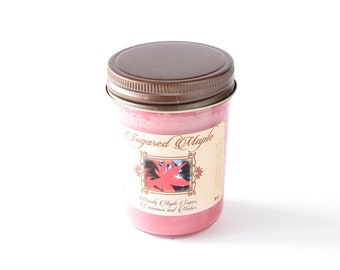 Sugared Maple - Natural Soy Candle - 8 oz