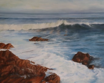 Original Oil Painting Pacific Grove California
