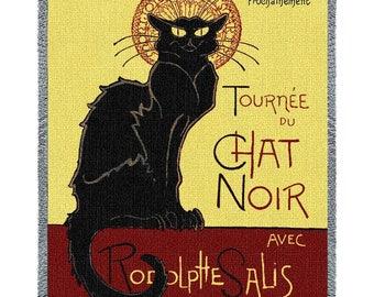 Tournee Chat Noir Blanket