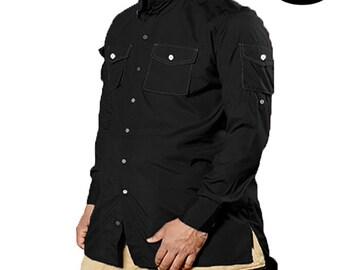 Shirt Oversize Black- Mouhajiroun