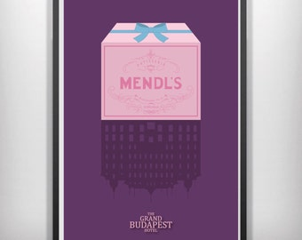The grand budapest hotel minimalist movie poster