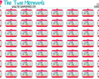 Clean The Cage Planner Stickers