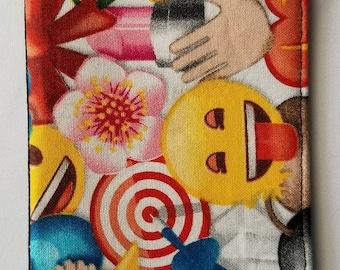 Emoji Checkbook Cover