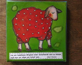 """""""No sheep"""" picture"""