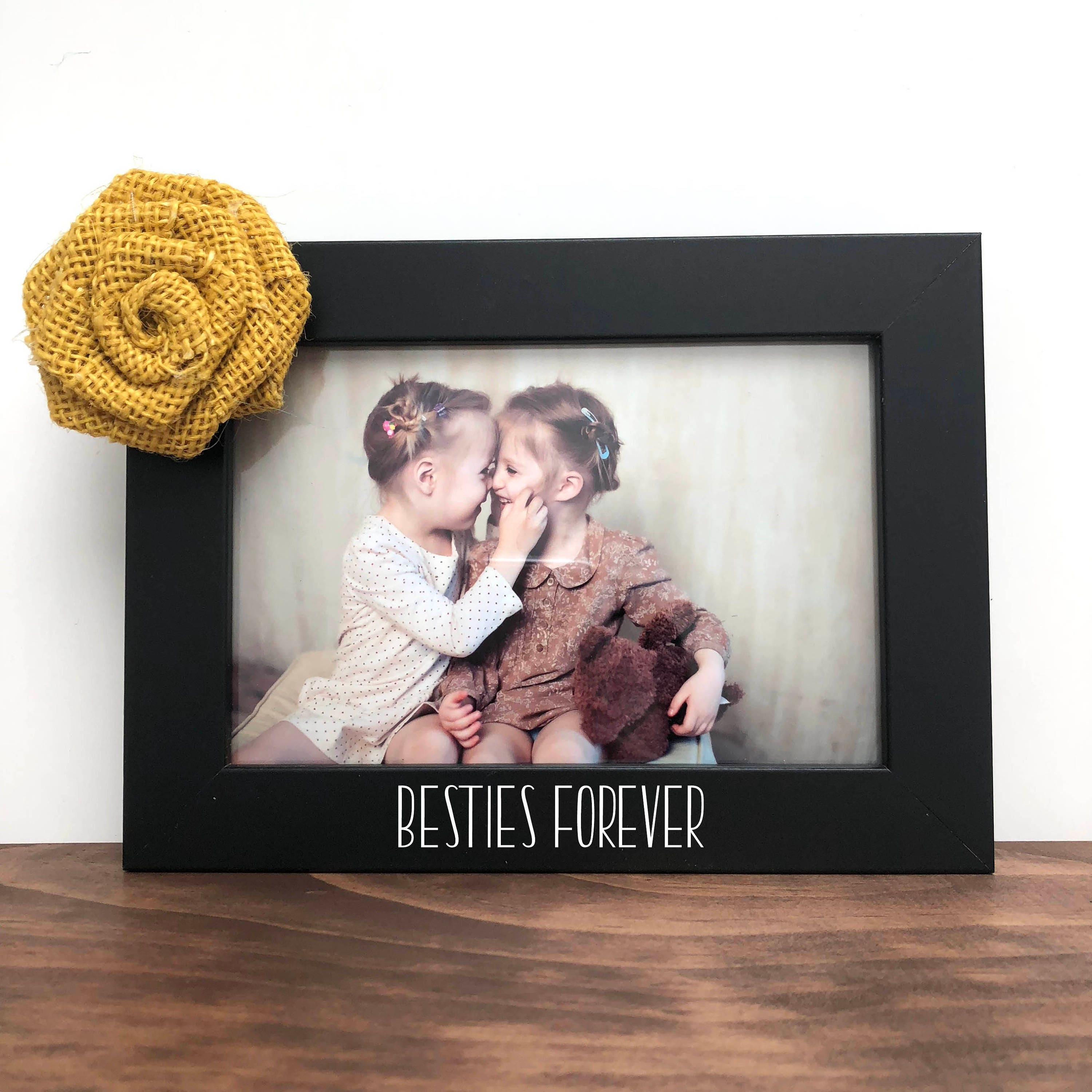 Besties Forever Picture Frame Best Friends Picture Frame