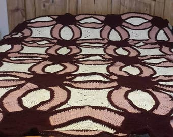 Double Wedding Ring Afghan