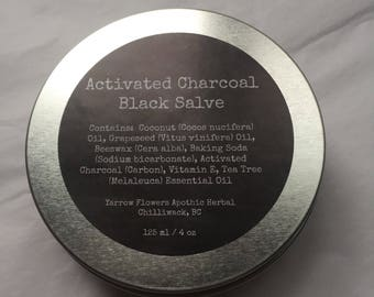 Activated Charcoal Black Salve