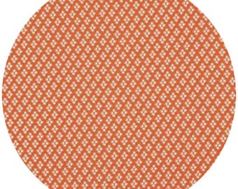 Denyse Schmidt Florence Four Dots in Carnelian - One Yard
