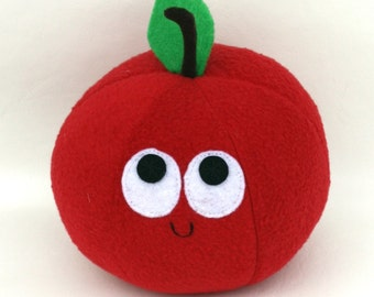 Red Apple - Plush Food