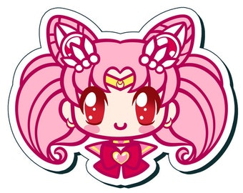Sailor Chibi Moon 3 inch Vinyl Sticker