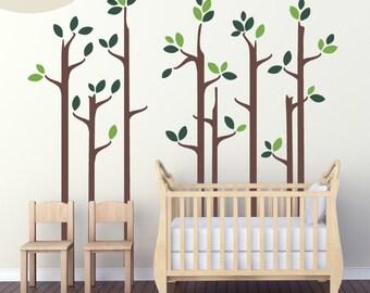 Skinny Trees - Vinyl Wall Decals