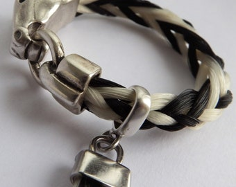 "Horsehair bracelet ""Tickled Fancy"" FREE SHIPPING"