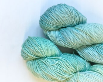 4ply Superwash Merino/Cotton - Aqualung