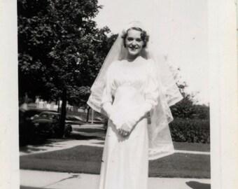 Lot of 30 Vintage photos of Weddings 1930s thru 50s snapshots photographs