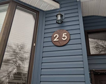 Custom House Number Sign, Address Sign, House sign, wooden number plaque, wood house number, house numbers, custom house sign