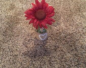 Red Fire!! Sunflower Pen