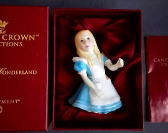 Dept 56 Candle Crown Alice in Wonderland - Alice - Figure Candle Snuffer