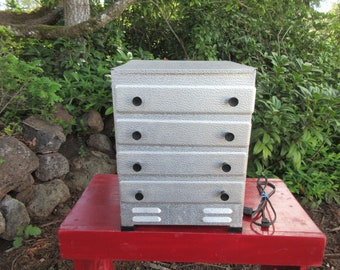 Vintage Jack's Aluminum Food Dehydrator 4 Trays Made in the USA 165 Watts Model 75
