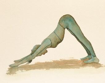 Original Yoga Watercolor Collection