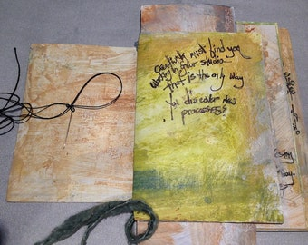 listen to the whispers of your heart textured journal