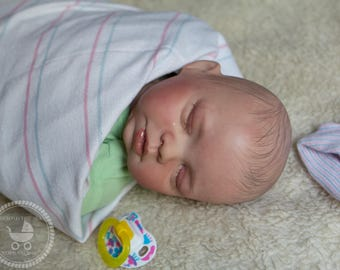 Reborn baby Girl or Boy| OOAK Hand Painted Doll| Made to Order