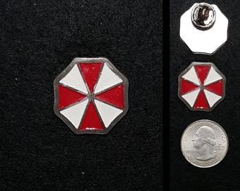 Hand Cast Umbrella Corporation 1 in. Lapel Pin or Magnet
