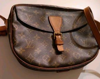 Original Louis Vuitton vintage shoulder bag cross over canvas monogram