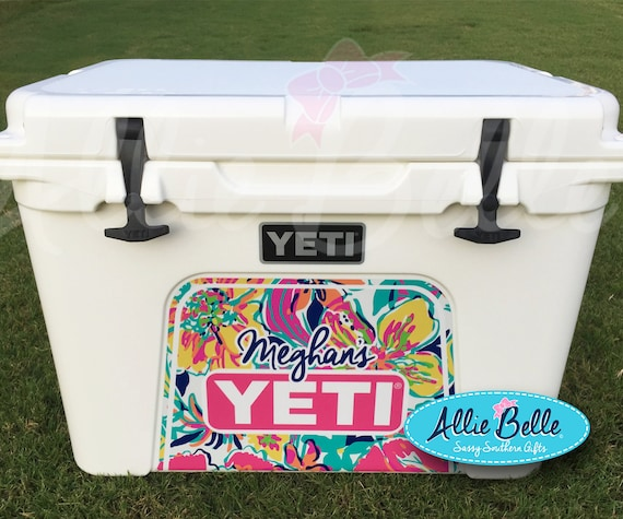 Yeti roadie ortundra cooler wrap decal custom yeti cooler decal 3m wrap decal personalized roadie 20tundra 354550 chevron from alliebelledesigns on