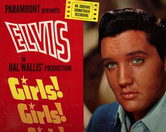 ELVIS PRESLEY LP Girls Girls Girls Original Rca  2621