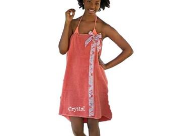 Spa Towel Wrap - Towel Wrap - Shower Wrap - Bath Wrap - Shower Towel Wrap - Bath Towel Wrap - Swimsuit Coverup - Holiday Gift Ideas