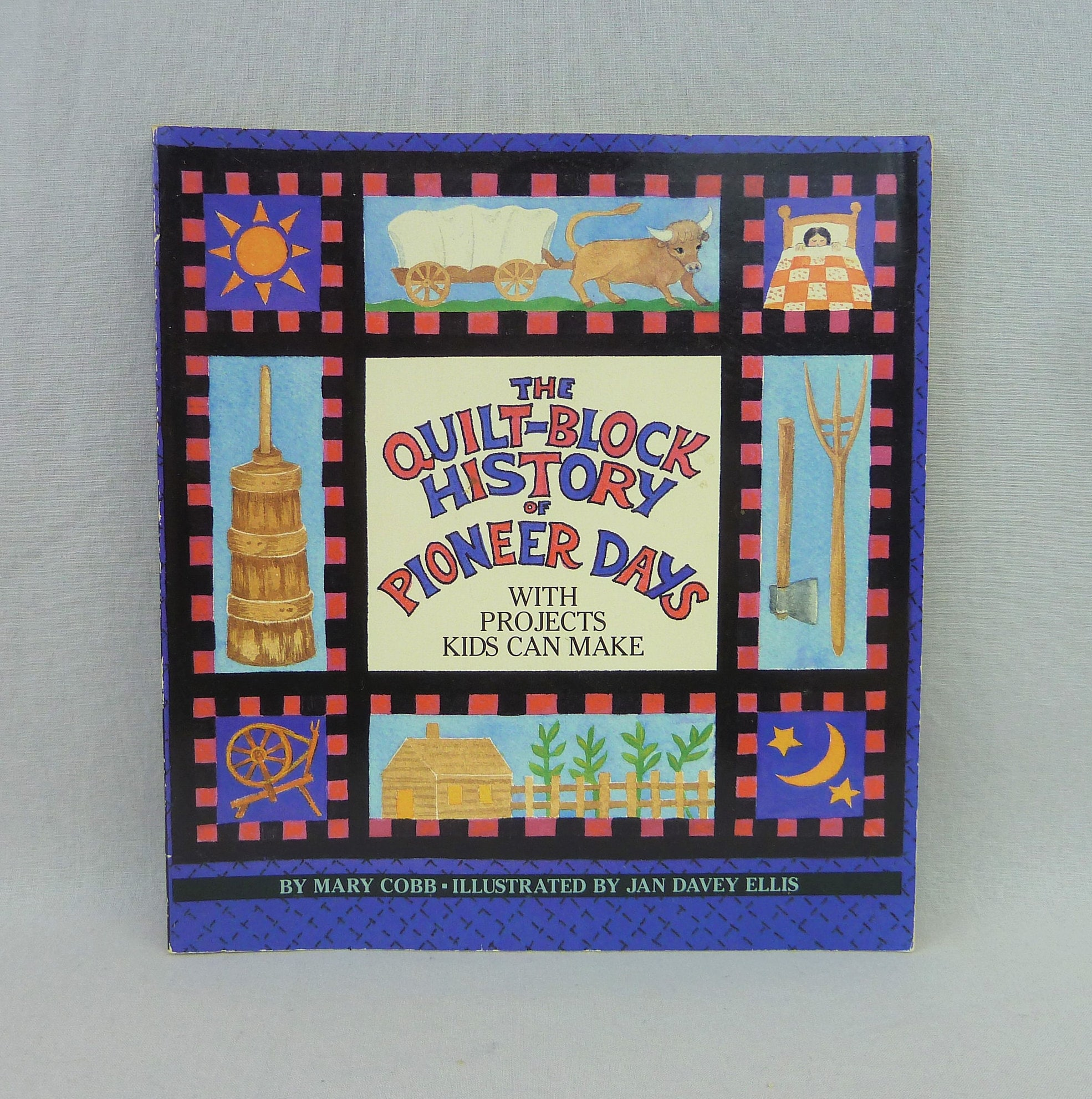 1995 The Quilt Block History Of Pioneer Days W Projects Kids