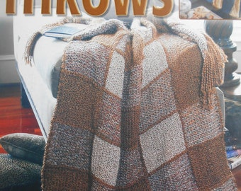 Quick Knit Throws, Leisure Arts, Pattern Leaflet #3615, 2004
