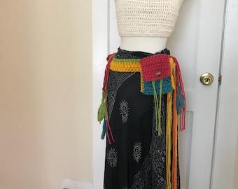 Crochet Festival Belt
