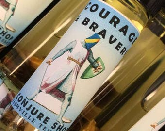 Courage and Bravery scent oil - hoodoo - witchcraft - pagan