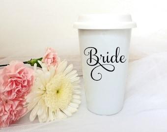 Bride Coffee Mug**Select Your Size** Travel Mug