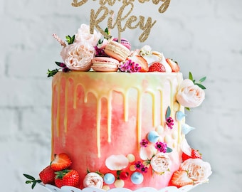 Custom cake topper Etsy