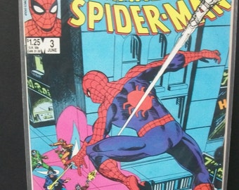 Official Marvel Index to The Amazing Spider-man #3  Chronological Order and Plot Synopsis VF-NM  Vintage Comic Book 1985 Marvel Comics