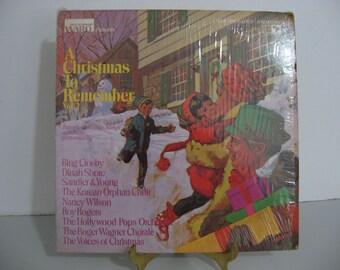 Roy Rogers - Nancy Wilson - Bing Crosby - Montgomery Ward - A Christmas To Remember Volume 2 - Circa 1970