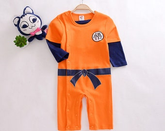 Baby Boys Son Goku Rompers