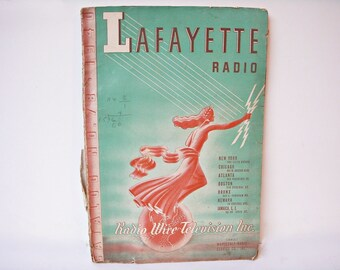 1940 LAFAYETTE RADIO CATALOG #78