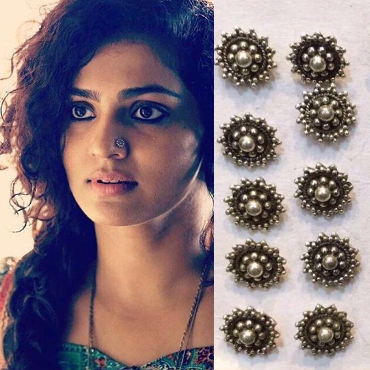 Generous Indian Nose Rings Online Photos - Jewelry Collection ...