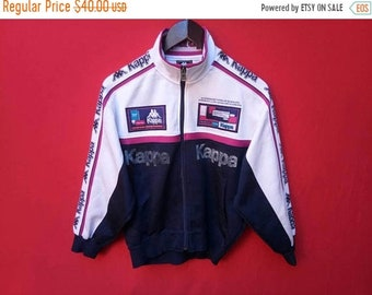 vintage kappa jacket fully zipper small men size