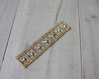 Rhinestone wedding decorative detailing